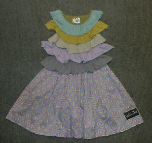 Matilda Jane PLATINUM Smoothie Dress - Size 4 - EUC