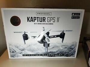 PROTOCOL Kaptur GPS II Wi-Fi Drone with HD Camera - White (6182-7XBH)