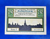 INSTERBURG (RUSSIA TSCHERNJACHOWSK) NOTGELD 2,50 MARK 1922 GERMANY (14647)