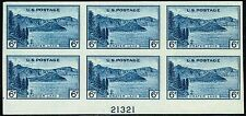 #761 PB 1935 6 CENT NATIONAL PARKS FARLEY ISSUE MINT-NH/NO GUM AS ISSUED