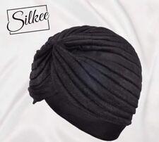 Silkee 100% Silk Lined Hair Wrap Turban