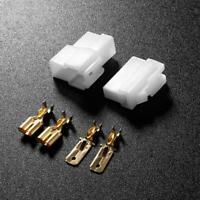 T-Type 2 Pin DC Power Connector Plug for VHF/UHF Kenwood Yaesu Icom Radio Walkie