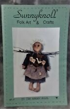 VINTAGE 1996 SUNNYKNOLL FOLK ART & CRAFTS PATTERN