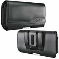 iPhone X/ XS/ 11 Pro Phone Holster w/ Belt Clip Black Phone Pouch Carrying Case