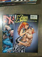 Uncanny X-Men 2 Book lot #393,394 Marvel Comics (2001)