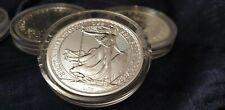 2017  1 oz  silver britannia .999 silver bullion