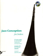 Jim Snidero Jazz Conception Klarinette Clarinet Noten mit Play-Along CD