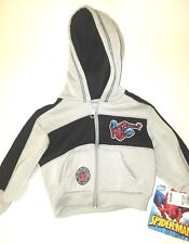 Marvel The Amazing Spider Man Full Zip Hoodie Baby/Infant Age 12 Months NWT