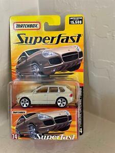 Matchbox Superfast 2005 #74 Porsche Cayenne Turbo Cream 1 of 15,500  Z11