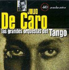 JULIO DE CARO/LAS GRANDES ORQUESTAS DEL TANGO: ORQUESTA JULIO DE CARO (2CD) ...