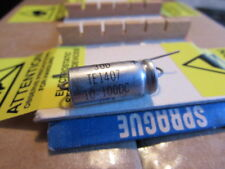 10uF, 100DC Sprague 30D TE1407 USA Axial Capacitor New Old Stock (Qty: 1 Piece)