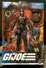 G.I.Joe Classified Series (Special Missions:Cobra Island) Cobra Viper READ!!!!!!