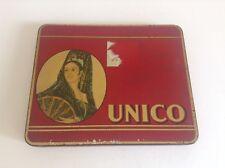 Ancienne boite en métal fer Cigares UNICO