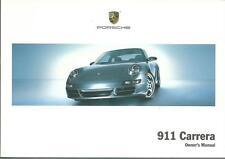 PORSCHE 911 CARRERA Driver´s Manual 2007  Typ 997 handbook BA