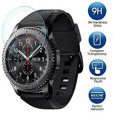 9H Tempered Glass Screen Protector Guard Shield For Samsung Gear S3 Frontier LTE