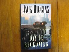 "JACK  HIGGINS  Signed  Book(""DAY  OF  RECKONING""-2000  First  Edition  Hardback)"