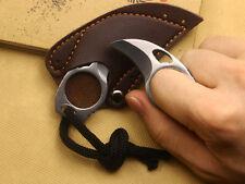2cm Hole Finger Hole Knife MINI 3Cr13Mov Steel Cute Camping Bear Claw Tool Sharp