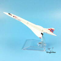 British Airliners Airways Concorde Metal Alloy Diecast Model Plane Aircraft Toy