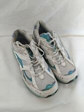 Avia Womens Running Trainers Exercise White Blue Size 6.5 UK Shoes #94Y1