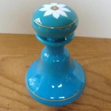 Blue Glass Bottle Victorian