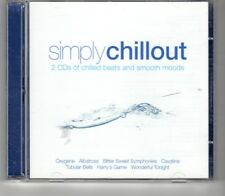(HO477) Simply Chillout, 24 tracks - 2009 double CD