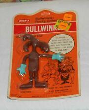 vintage Wham-O Bullwinkle and Rocky Bullwinkle Bendy Figure Moc new/sealed