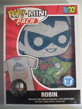 Funko POP! Tees Mini Pack Teen Titans Go! Robin Figure & T Shirt Large L