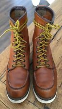 RED WING 877 Irish Setter 8 Inch Moc Toe US 9,5 EU 42,5 ( 43-43,5)