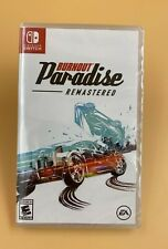 Criterion - Burnout Paradise Remastered for Nintendo Switch FACTORY SEALED - NEW