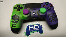 """Custom Microsoft Playstation 4 PS4 """"The Joker - Suicide Squad"""" Controller"""