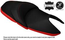 Rojo y Negro Personalizado Se Ajusta Honda NSS 300 Forza doble piel cubierta de asiento