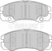 Borg & Beck Disc Brake Pad Set Pads BBP1419 - GENUINE - 5 YEAR WARRANTY