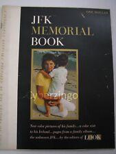 Look Magazine JFK Memorial Book Keepsake Prepared By The Editors Of Look 1964