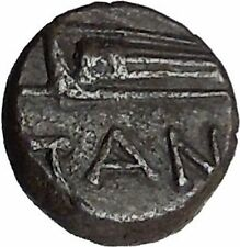 Pantikapaion in Tauric Chersonesos 3rdCentBC RARE Ancient Greek Coin BOW  i50246