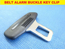 PEUGEOT 207 308 307 BLACK SEAT BELT ALARM BUCKLE KEY CLIP SAFETY CLASP STOP