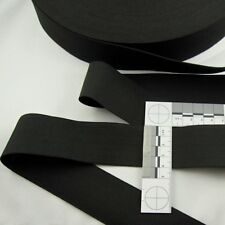 Gummiband - band elastisch - Wäschegummi - 4 cm breit - schwarz - Polyester