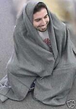 "Wool Utility Emergency Blanket Grey 60""X80"" Camping NEW"