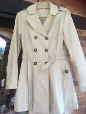 Indigo Collection By M&S Trench Coat Size 10