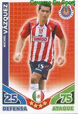 024 VAZQUEZ DEPORTIVO GUADALAJARA MEXICO CARD ESTRELLAS MONDIALES 2010 TOPPS
