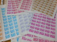 lot FEUILLES 1700 TIMBRE 50 stamp CORREOS managua NICARAGUA SHEET 1983 agraria