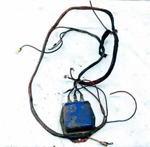 Vintage OEM Used Ford 8N Tractor 6 Volt 6V Voltage Regulator w wiring Tested
