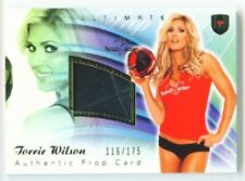 TORRIE WILSON SOCCER BALL PROP CARD BENCHWARMER ULTIMATE 2010