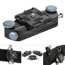 Andoer Metal Quick Release Camera Waist Belt Strap Mount Clip for Canon Nikon