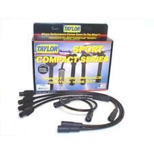 Taylor Spark Plug Wire Set 77083; Spiro Pro 8mm Black for Volkswagen 4 Cylinder