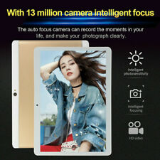 "New 10.1"" Tablet PC 4GB+64GB HD Android 8.0 4G WIFI/WLAN  Dual SIM Cam GPS 2020"