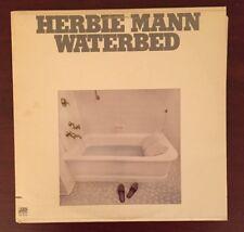 Herbie Mann Waterbed Atlantic SD1676 Jazz Original Vintage Vinyl LP 1975