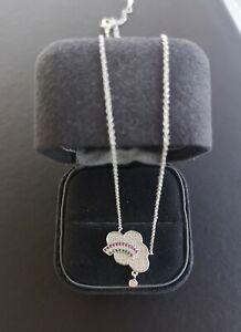 Wholesale Cloud Design Pendant Silver Colour Fashion Necklace Nice Gift Choice