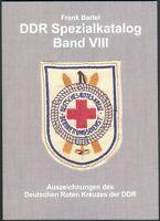Spezialkatalog Band VIII Rotes Kreuz der DDR, Frank Bartel, 2007