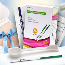 Early Pregnancy HCG Urine Test Strips Kit Predictor 10mIU Fast Accuracy Home Use