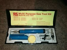 RS Components Multi Purpose Gas Tool Kit 512-610 powered soldering iron